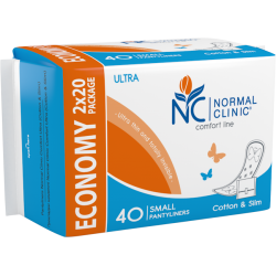 PANTYLINER COMFORT ULTRA COTTON & SLIM DUO 40pcs