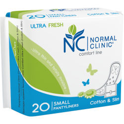 PANTYLINER COMFORT ULTRA FRESH COTTON & SLIM 20pcs