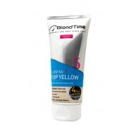 BLOND TIME COLORING HAIR SILVER MASK STOP YELLOW  200ml