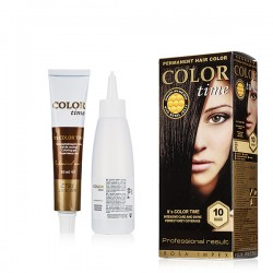 COLOR TIME GEL FORMULA HAIR DYE IN 26 COLORS 100ml