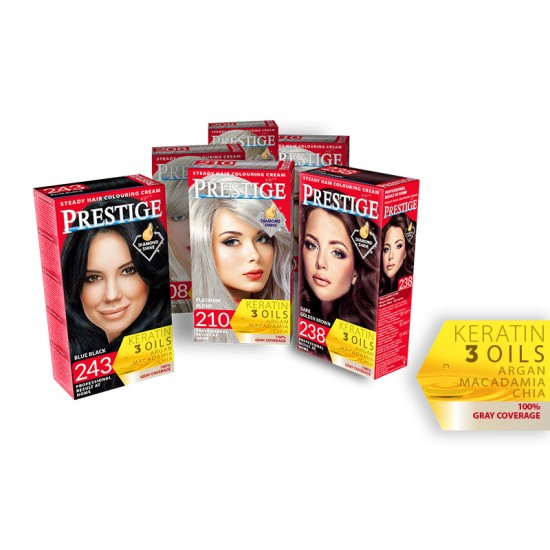 VIP'S PRESTIGE STEADY HAIR DYE IN 38 COLORS 115ml