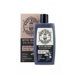"MEN'S MASTER DETOX SHAMPOO ""ACTIVE CARBON AND BURDOCK"" 260ml"