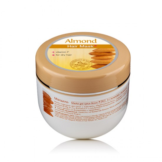 ALMOND HAIR MASK WITH VITAMIN F 250ml