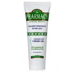 FOREST PHARMACY COOLING FOOT CREAM GEL 75ml